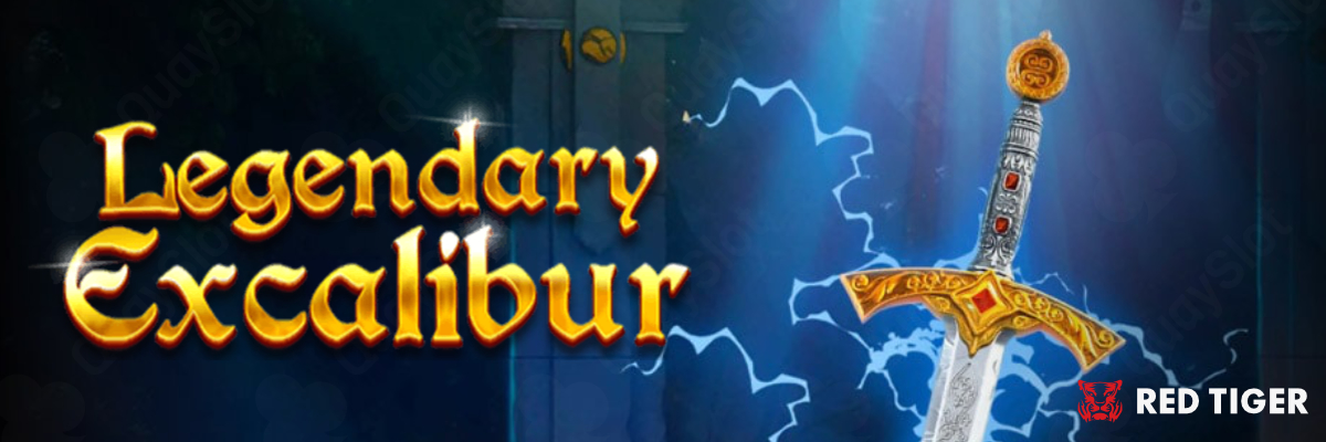 Legendary Excalibur (Red Tiger Gaming|RTP 95.66%) Đánh giá Slot Game – Quay slot