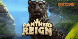 Panther's Reign online slot thumbnail by quickspin