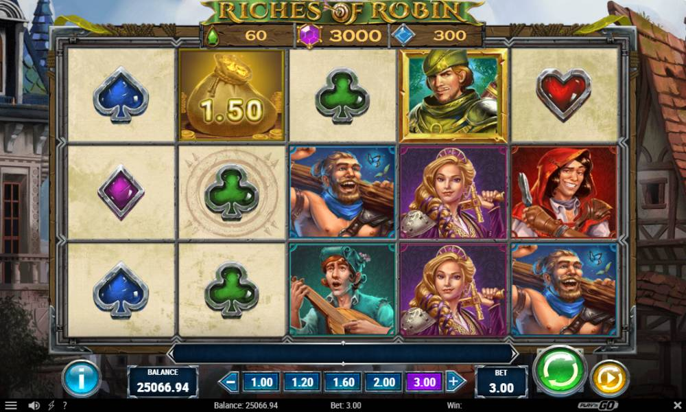 Riches of Robin online slot game by Play'n Go
