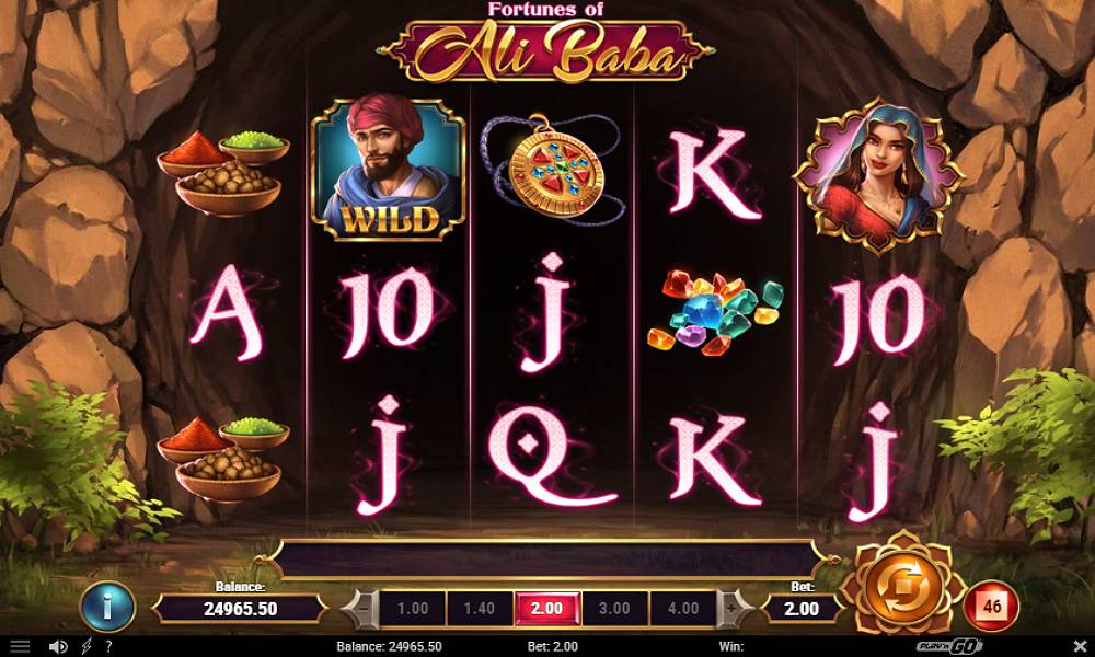 Fortunes of Ali Baba online slot game by play'n go